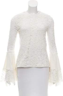 Alexis Lace Bell Sleeve Top