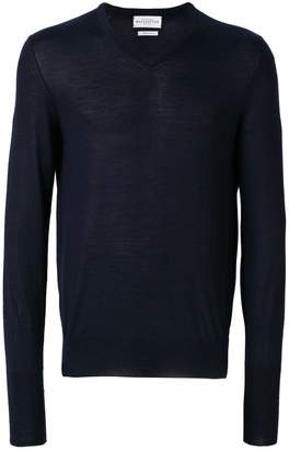 Ballantyne V-neck fited sweater