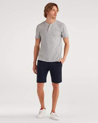 7 For All Mankind 9'' Inseam Chino Short in Navy