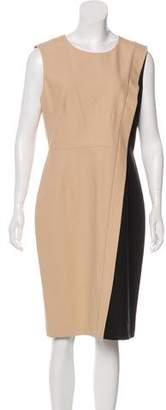 Paule Ka Colorblock Midi Dress w/ Tags