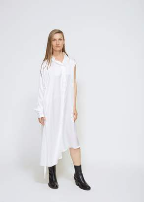 Ann Demeulemeester One Shoulder Shirt Dress