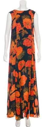 Jenni Kayne Sleeveless Printed Maxi Dress