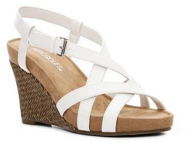 Aerosoles At First Plush Wedge Sandal