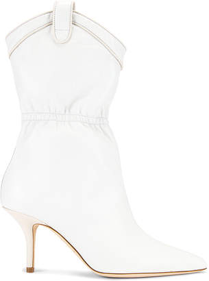Malone Souliers Daisy MS 70 Boot in White & Cream | FWRD
