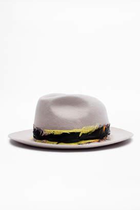 Zadig & Voltaire Alabama Foulard Hat