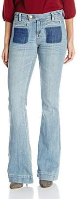 Dittos Women's Joni High-Rise Flare Jean