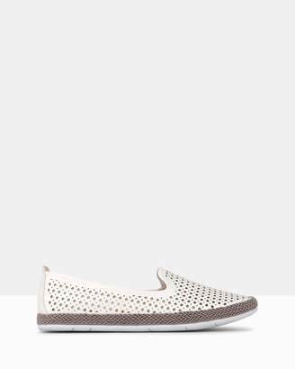 betts Suzie Perforated Slip-On Espadrille Shoes
