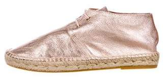Robert Clergerie Eloise Leather Espadrilles