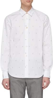 Paul Smith Floral fil coupé shirt