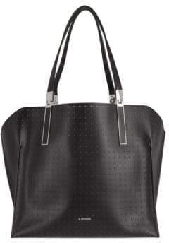 Lodis Blair Perf Leather Shoulder Bag