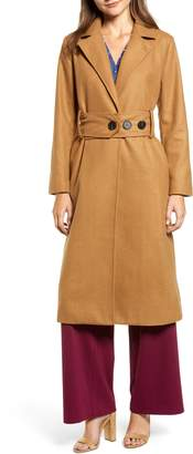 CHRISELLE LIM COLLECTION Chriselle Lim Victoria Belted Coat