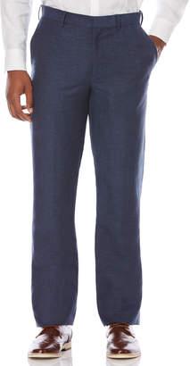 Cubavera Big & Tall Linen Blend Flat Front Pant