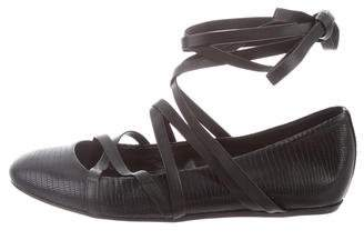 Lanvin Laced Ballerina Flats w/ Tags