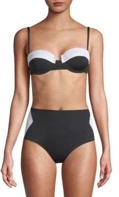 Tart Aubrie Two-Tone Bikini Top
