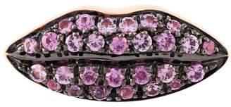 Delfina Delettrez 'Lips' sapphire earring