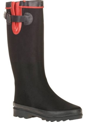 Couture FOREVER YOUNG Forever Young Women's Scuba Water Resistant Fabric Tall Rain Boot
