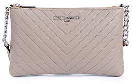 Karl Lagerfeld PARIS Charlotte Leather Crossbody Bag