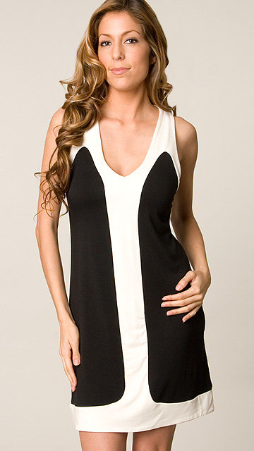 Rachel Pally Black & White Mischa Dress