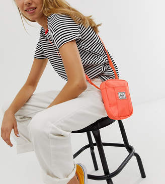 Herschel Exclusive Cruz neon coral festival cross body bag