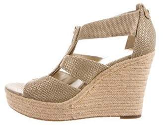 MICHAEL Michael Kors Platform Wedge Sandals