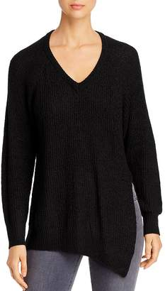 Elan International Asymmetric Side-Slit Sweater