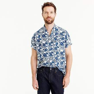J.Crew Shuttle Notes® two-pocket camp-collar shirt
