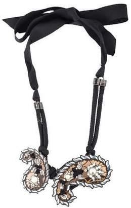 Lanvin Udaipur Paisley Necklace