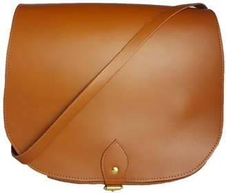 N'Damus London - Large Leather Tan Saddle Bag