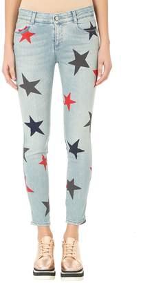 Stella McCartney Star Print Skinny Jeans