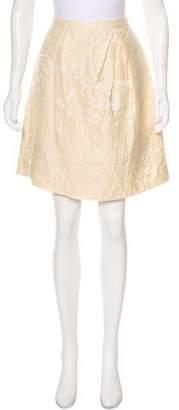 Peter Som Patterned Knee-Length Skirt