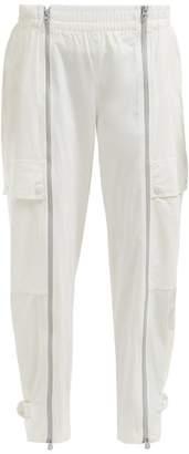 adidas by Stella McCartney Zip Fastening Technical Track Pants - Womens - White