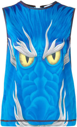 J.W.Anderson sleeveless dragon top