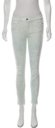 J Brand Low-Rise Skinny Jeans w/ Tags