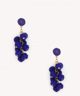 Sole Society Beaded Cluster Earrings