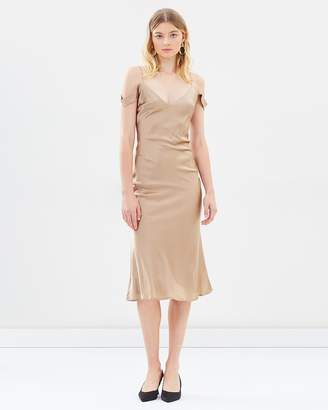 Honeysuckle Silk Dress