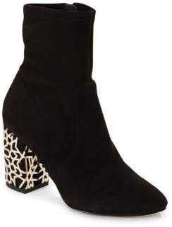 Side Zipper Almond Toe Ankle Boots $295 thestylecure.com