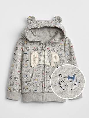 Gap Logo Print Hoodie Sweatshirt