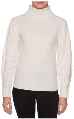 Magaschoni Long Sleeve Chunk Cable Pullover