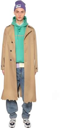 Oversize Cotton Trench Coat