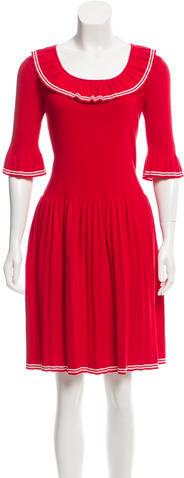 Marc JacobsMarc Jacobs Ruffled Knit Dress w/ Tags