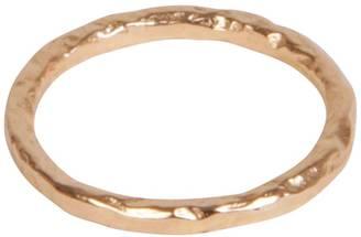 Matthew Calvin - Thin Meteorite Ring Rose