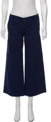 Rag & Bone Wide-Leg Cropped Pants