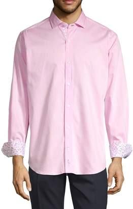 Tailorbyrd Earl Printed Cuff Shirt