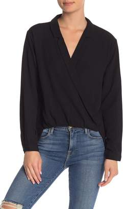 FAVLUX Hi-Lo Long Sleeve Blouse