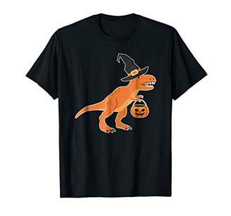T-Rex Dinosaur Witch Halloween Funny Costume Gift T-Shirt