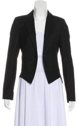 Band Of Outsiders Pleated Wool Blazer