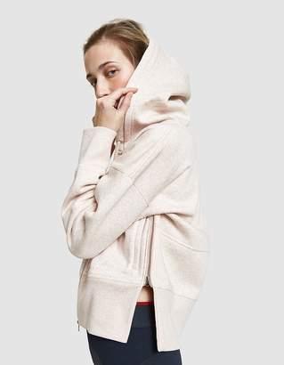 adidas by Stella McCartney Essentials Hoodie in Pearl Sand