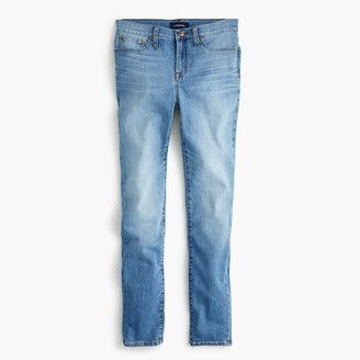 "J.Crew 9"" High-Rise Toothpick Eco Jean In Light Blue Wash"