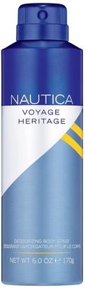 Nautica Voyage Heritage Men's Deodorizing Body Spray
