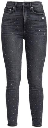 Alice + Olivia Jeans Good High Rise Ankle Skinny Jeans